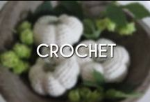 Crochet / I could always use some good crochet inspiration!