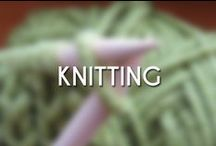 Knitting / Looking to improve my skills means looking for new ideas.