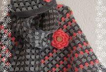 Tricot et Crochet Chale, Poncho