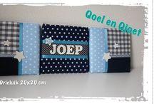 Qoel en Qjoet (www.facebook.com/qoelenqjoet) / Leuke handgemaakte (gepersonaliseerde) kraamcadeaus en meer...