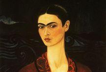 Painting - Frida Kahlo & Diego Revera