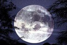 Moon,Stars & Space