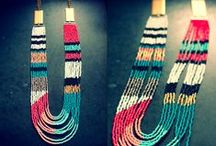Jewellery - wire, bead and crochet  / by Anabel Katy
