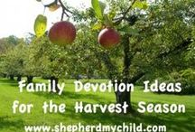 Family Bible Study/Devotion/Worship Ideas