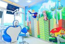 Clínica Dental / Diseño de interior Clínicas dentales