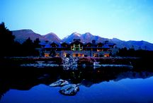 Blanket Bay Luxury Lodge / Luxury Boutique Lodge, nestled in the heart of the Southern Alps, Glenorchy New Zealand,