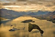 Adventure / Indulge your intrepid side with a heli flight to Milford Sound, a horse ride through glaciated landscapes or a jet boat adventure through the majestic Te Wai Pounamu World Heritage area.