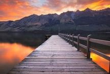 Stunning New Zealand / One of the most diverse and stunning countries on the planet, home to crystal clear rivers and lakes, pristine beaches, snow capped mountains, burgoning film industry, a world class wine industry and more