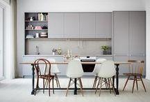 Kitchen inspiration / Design ideas, fun pieces & stunning kitchens that we love