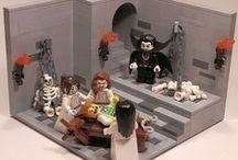LEGO HALLOWEN / LEGO temática de Hallowen, Casa encantada, fantasmas, Lord Vampiro y compañía.