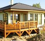 Rodinný dům Zlukov / Výstavba montované dřevostavby ve Zlukově.