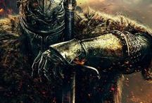 Warriors / All things warriors, fantasy, knights, ilustrations...