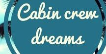 Cabin crew dreams / Imagine jetting all over the world and getting paid for it! Do you dream of being cabin crew? Then let us help! Here at Mondrago- My Travel Teacher we can help you make your cabin crew dreams come true. So, if you're looking for cabin crew interview tips, then please come and visit us. You can find us at http://mondrago.co.uk. And whilst you are there, you can grab a FREE copy of the CV I used to be invited to EVERY cabin crew assessment day I applied to! Pauline x
