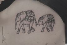 Animal Tattoos / A selection of Animal Tattoos by Rachainsworth.