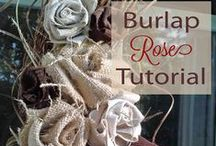 Burlap / All things using burlap