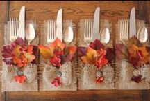 Thanksgiving / Autumn Fall Crafts and Decorations