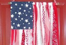 4th of July - Patriotic Crafts & Decorations / 4th of July and patriotic crafts, decorations and foods.