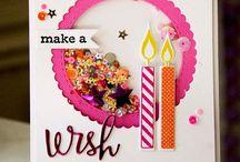 Shaker Card Inspiration