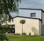 Rodinný dům v Praze / Montovaný rodinný dům na zakázku. Více informací naleznete na: http://www.alfahaus.cz/realizace/3-08-rodinny-dum-praha