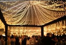 Romantic + Magical Spaces / Romantic and magical places and scenes. Romance inspiration. Creativity. Candles. Fairy Tales. Sparkles. Love. Wedding reception. Proposals.