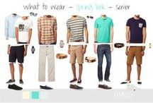 Fab Fashion for the Fellas / Senior picture clothing options
