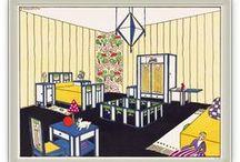 Art Deco / Enfance, Childhood & Kindheit.