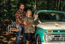Family portrait photography @jollyjenphotography / Family photos
