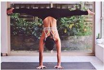 Yoga Photography / Inspired Yoga portraits... gorgeous and yoga shots. Beautiful yoga photography inspiration. Strike a pose... a yoga pose!