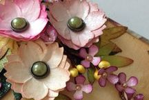 Paper Flowers / Create beautiful products using paper punches.