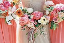 Summer Flower Ideas / Summery flowers and colors to inspire a beautiful summer wedding!