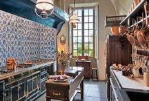 Glorious Country Kitchens / Kitchen Inspiration