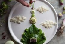 Artful Eating / Artistic Culinary Dishes & Food as Art