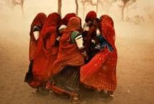 Inspirational India / The fascinating culture and people of India!  A land of incredible diversity and complexity ~ where a little bit of everything can be found.