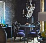 Eclectic Decor & Living Spaces / Eclectic, artsy, colorful & unique decor & accents.