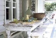 Fabulous Farm Tables / The iconic farm table - the most popular piece of furniture in most homes. Generation after generation - the tales it could tell. Amazing farm tables from around the globe & their use in function & decor.
