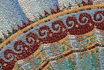 """Mesmerizing Mosaics & Tiles / Mosaics & tiles & the fascinating stories they tell, piece by piece.   The word """"mosaic"""" originates from the Italian word mazaico and the French word mozaique."""