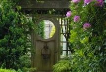 Gates & Alluring Entryways / The alluring pathways and keepers of private, personal spaces.
