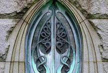 Doors, Entryrways, Hardware & Keys / Vintage, modern & whimsical doors, entryways, hardware and the keys that open them.