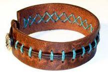 Изделия из кожи (Jewelry made of leather)