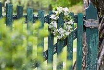 Fences, gates and arbors