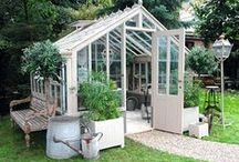 Greenhouse and garden sheds