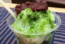 Shaved Ice 2015 / shaved ice topped with flavored syrup. 2015年に食べたかき氷と、食べてないけど気になるかき氷。