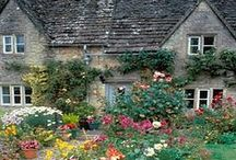 Farmhouses & Country Homes / Quaint, elegant & vintage lived-in spaces celebrating & embracing country life around the globe.