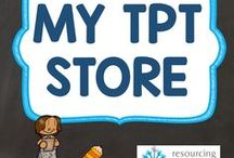 My TPT Store / Resources available at Resourcing Time's store on Teachers Pay Teachers
