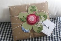 Embalagens de Oferta / Gift Wrapping / Trabalhos Manuais