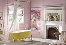 Bathrooms and Powder Rooms / The ritual of the bath - bathrooms, powder rooms and bathing necessities.