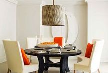 Dining Rooms / A room or space in the home for gathering together with friends and family to enjoy one of the fundamentals of daily life, the consumption of food. Whether grand and sophisticated or more casual and laidback, it is a space where celebratory meals are often shared memories created.