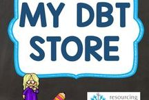 My DBT Store / Links to all Resourcing Time's resources available at Designed By Teachers.