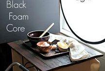 Food photo setup