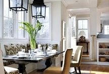 Kitchen and Banquette
